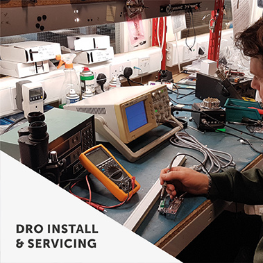 DRO Install and Servicing