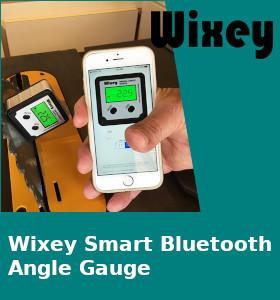 Wixey Smart Bluetooth Angle Gauge